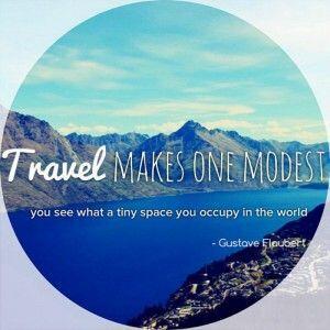 TravelMakesOneModest